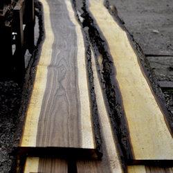 Lovely live edge walnut slabs