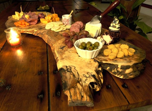 Figured Maple Charcuterie Board2